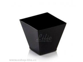 Černý malý kelímek Comatec 4cm
