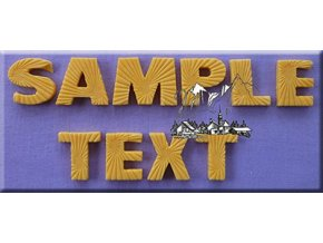 Velká abeceda AM0129 silikonová forma