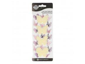 Lacy butterflies set 4 JEM (1101CC004)