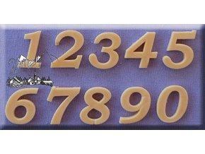 Číslice 0067 silikonová forma na cukrářské hmoty