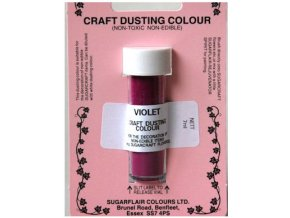 Violet - dekorativní nejedlá prachová barva